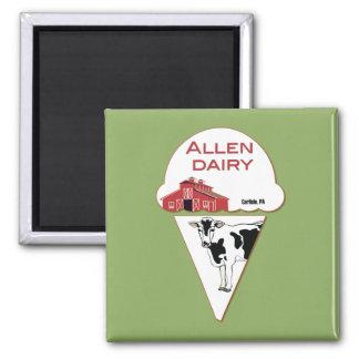 allen dairy magnet