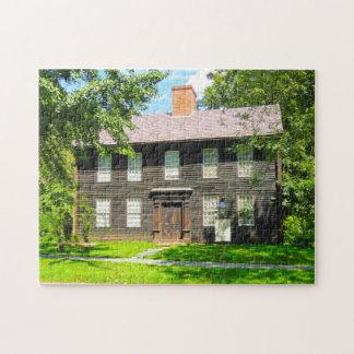 Allen House Deerfield Massachusetts. Jigsaw Puzzle
