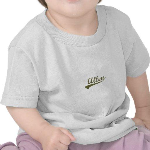 Allen Revolution tee shirts