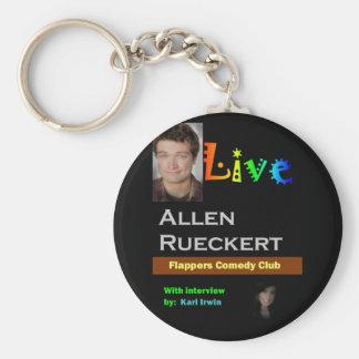 Allen Rueckert LIVE Keychain