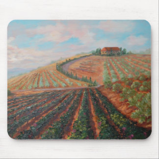 Allen's Tuscan Vineyard Mouse Pad