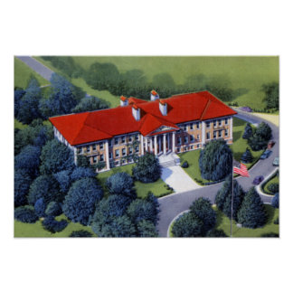 Allentown Pennsylvania Cedar Crest College Poster