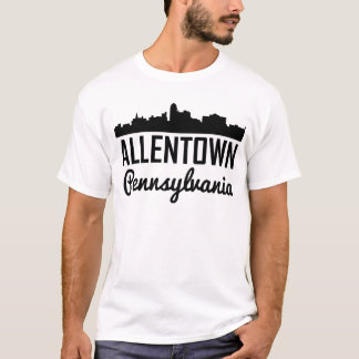 Allentown Pennsylvania Skyline T-Shirt