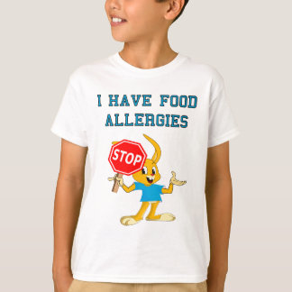 Aller Bunny StopBunny Food Allergies T-Shirt 2