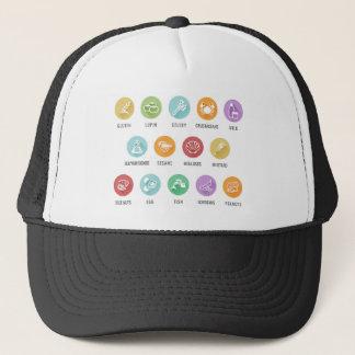 Allergen Food Allergy Icons Trucker Hat