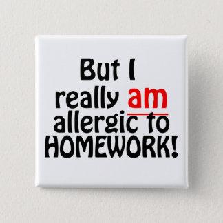 Allergic to Homework Button