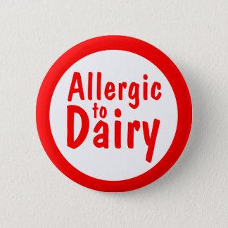 Allergic to milk 2 inch round button