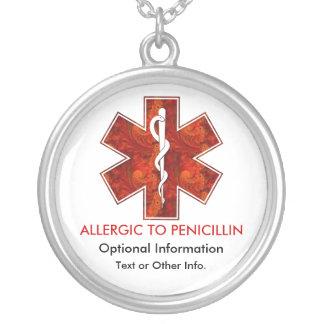 Allergic to Penicillin Medical   Necklace
