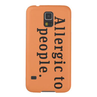 """""""Allergic to people"""" Samsung Galaxy S5 Case"""