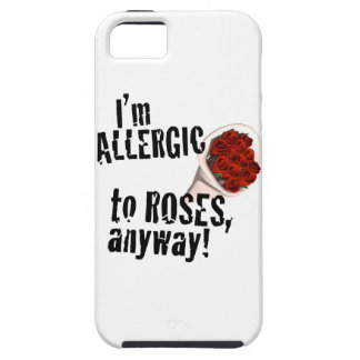 Allergic to Roses Anti Vday iPhone 5 Cases