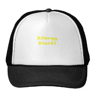 Allergy Alert Trucker Hat