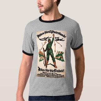 Alles Furs Vaterland WWI Poster T-Shirt