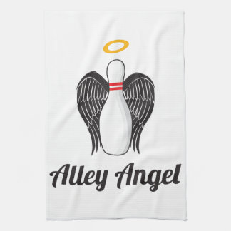Alley Angel Bowling Towel