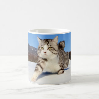 Alley cat niyan good fortune< The snowfield it Coffee Mug