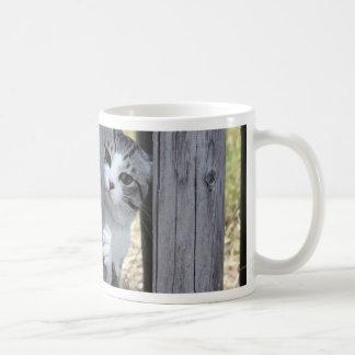 Alley cat niyan good fortune< While fleeing > Coffee Mug