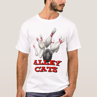 Alley Cats Bowling T-Shirt