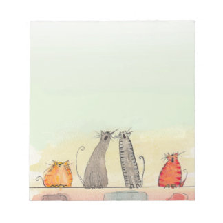 Alley Cats Notepad