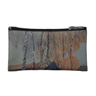 Alley into the sunset makeup bag