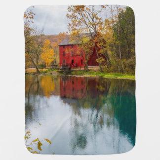Alley Mill Autumn Baby Blanket
