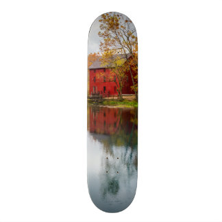 Alley Mill Autumn Custom Skateboard