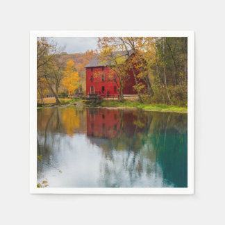 Alley Mill Autumn Paper Napkins