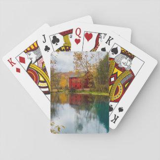 Alley Mill Autumn Poker Deck