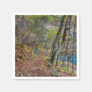 Alley Mill Autumn Walk Disposable Napkins
