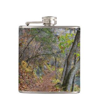 Alley Mill Autumn Walk Hip Flask