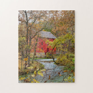 Alley Through The Woods Jigsaw Puzzle