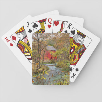 Alley Through The Woods Playing Cards