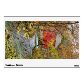 Alley Through The Woods Wall Sticker