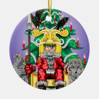 AllFather Yuletide Ceramic Ornament
