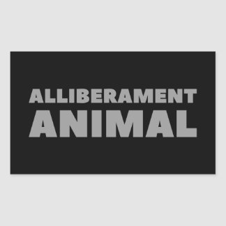 Alliberament Animal Sticker