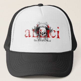 ALLICI Devils Advocate Hat, by Justaño Alicci Trucker Hat