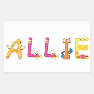 Allie Sticker