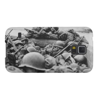 Allied World War II Soldiers Crossing the Rhine Galaxy S5 Cases