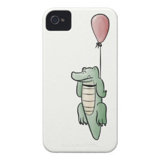 Alligator and Balloon iPhone 4 Case