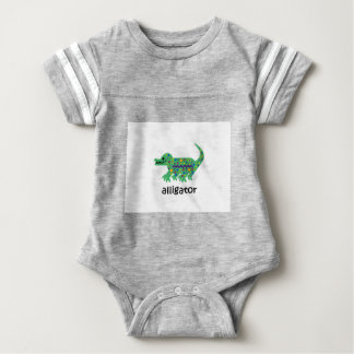 Alligator Baby Bodysuit