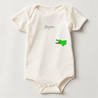 Alligator Baby Bodysuit