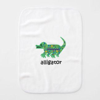 Alligator Burp Cloth
