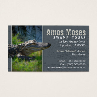Alligator Business Card