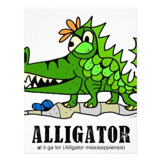 Alligator by Lorenzo © 2018 Lorenzo Traverso Letterhead
