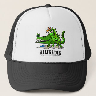 Alligator by Lorenzo © 2018 Lorenzo Traverso Trucker Hat