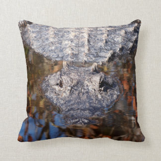 Alligator - Careful! - See Both Sides Throw Pillow
