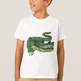Alligator Cartoon Character T-Shirt