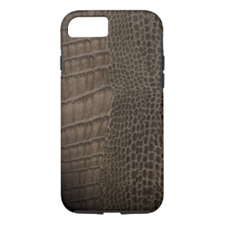 Alligator Classic Reptile Leather (Faux) iPhone 7 Case