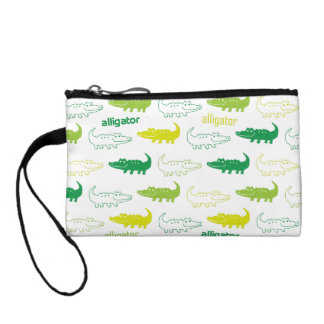 alligator coin purse