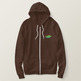Alligator Embroidered Hoodie