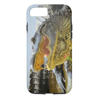 Alligator. Face to face iPhone 7 Case