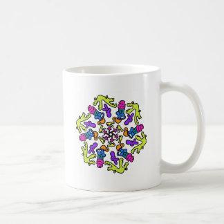 Alligator Gets the Cupcake Design Coffee Mug